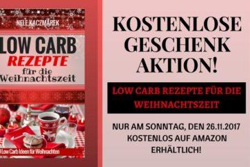 Low Carb Rezepte für die Weihnachtszeit