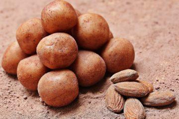 Low Carb Marzipankartoffeln